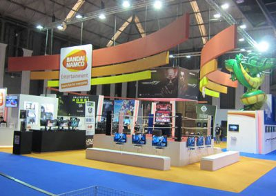 Bandai Namco Barcelona Games World Booth