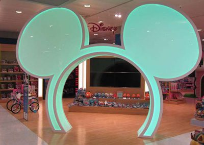 DISNEY Space at El Corte Inglés, Marineda