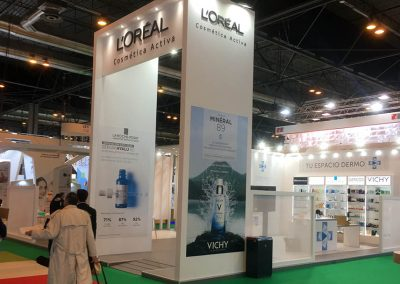 Cosmetique Active España booth, INFARMA 2018