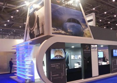 GESTAIR EBACE booth