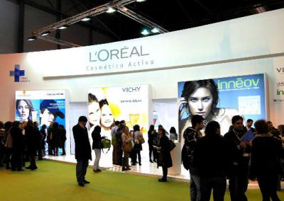 L´OREAL Madrid booth