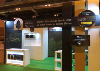 Booth for DEHESAS REUNIDAS at the GOURMET 2017 trade show